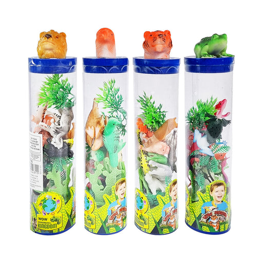 WILD ANIMALS IN TUBE by Toys for a Pound