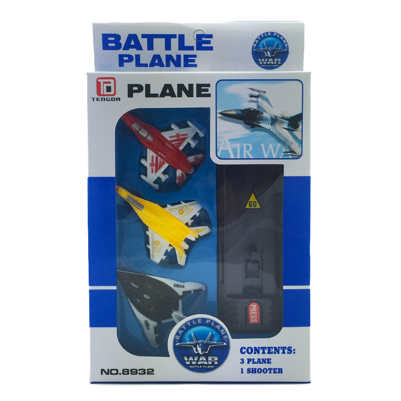 BATTLE PLANES AND LAUNCHER SET