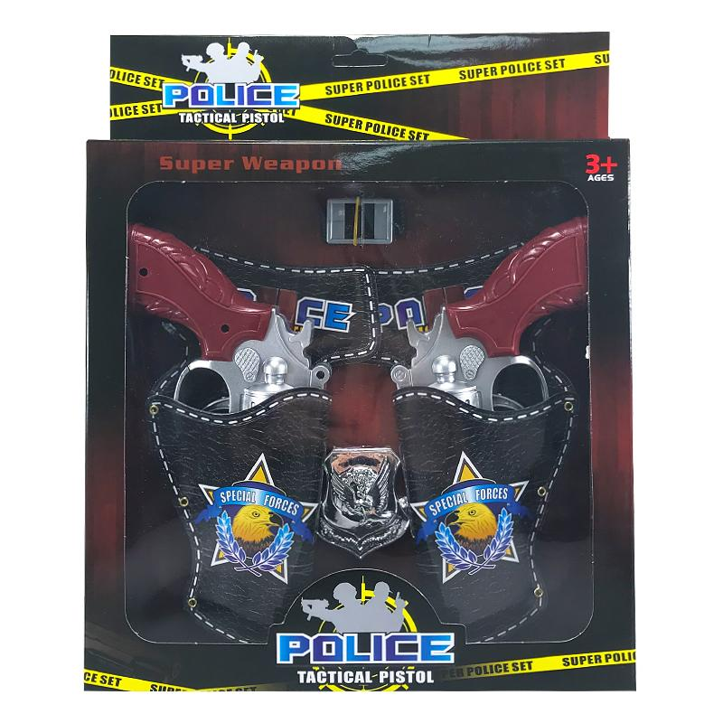 POLICE TWIN HOLSTER SET