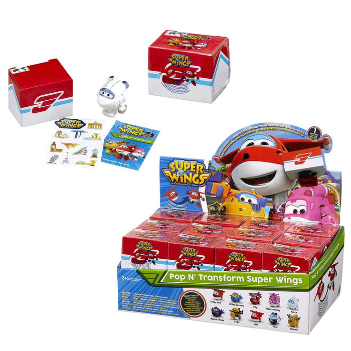 SuperWings Pop & Transform Mini Figure Blind Box