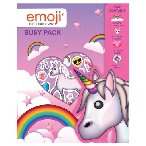 EMOJI UNICORN BUSY PACK