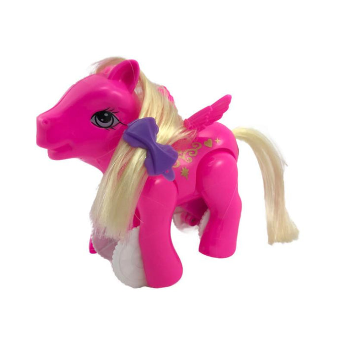 WALKING PULL STRING PONY by Toys for a Pound