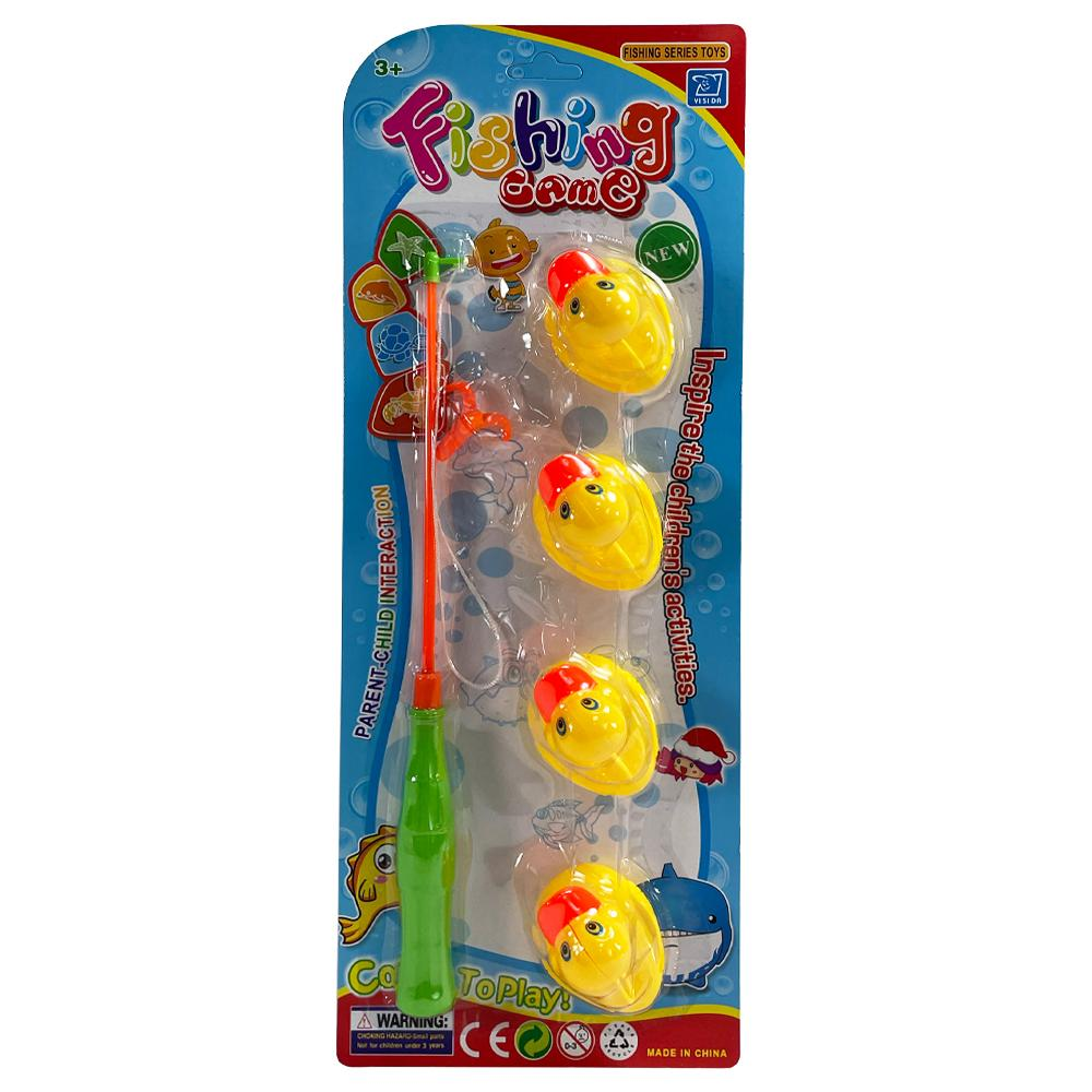 DUCK FISHING GAME BATH TOY