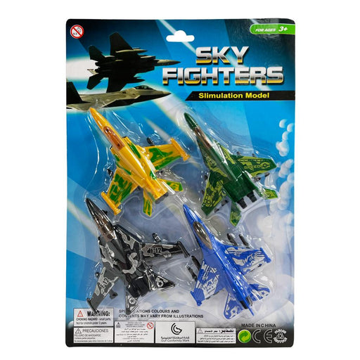 SKY FIGHTERS 4PC JET PLANE SET