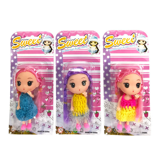 SWEET DOLL WITH KNIT STYLE DRESS