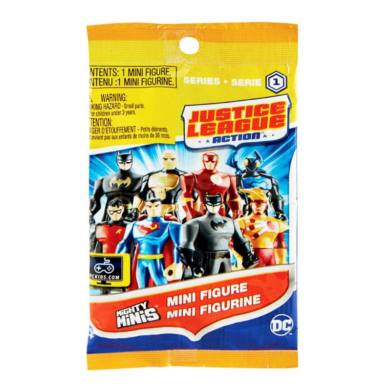DC JUSTICE LEAGUE ACTION MIGHTY MINIS BLIND BAG