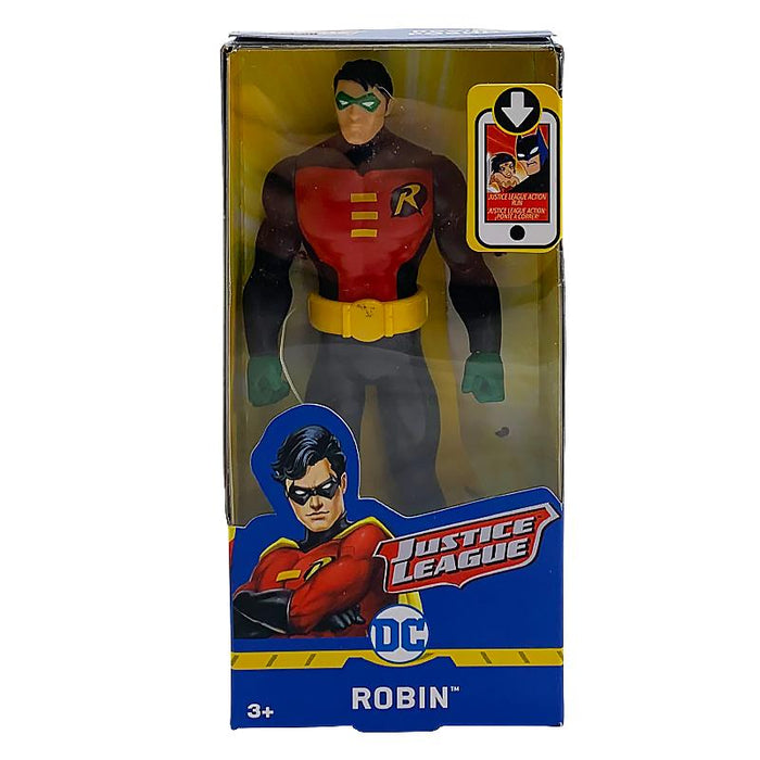 "DC JUSTICE LEAGUE ROBIN 6"" ACTION FIGURE"
