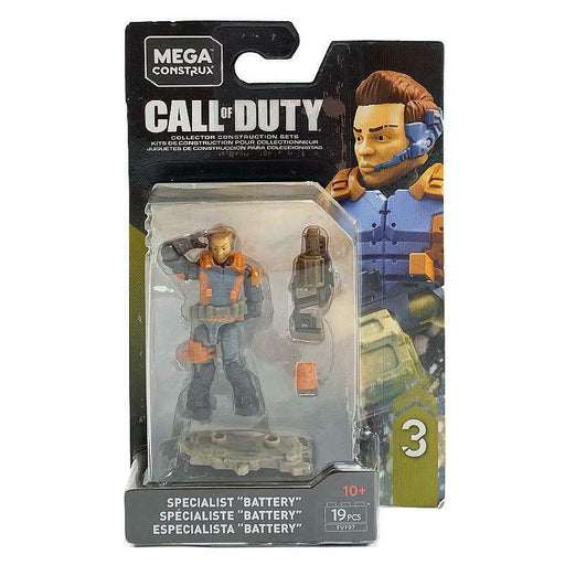 MEGA CONSTRUX CALL OF DUTY SPECIALIST BATTERY MINI FIGURE