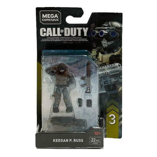 MEGA CONSTRUX CALL OF DUTY KEEGAN P RUSS MINI FIGURE