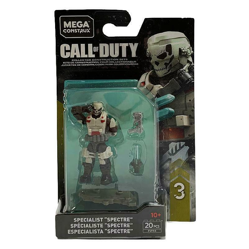 MEGA CONSTRUX CALL OF DUTY SPECIALIST SPECTRE MINI FIGURE