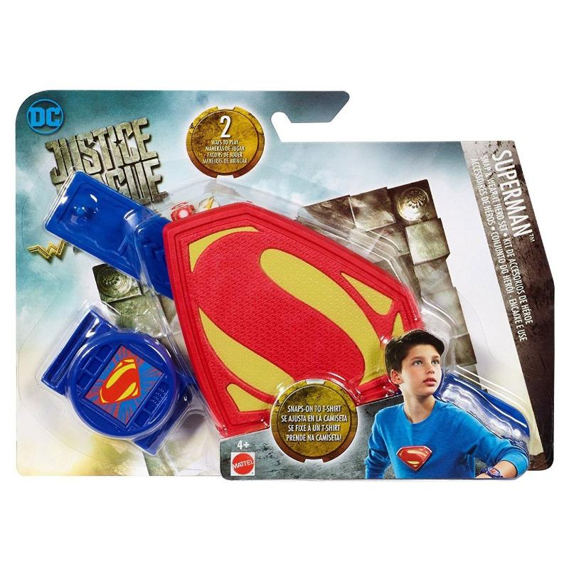 DC JUSTICE LEAGUE SNAP & WEAR HERO SET - SUPERMAN