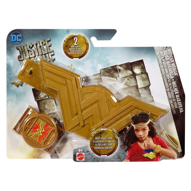 DC JUSTICE LEAGUE SNAP & WEAR HERO SET - WONDER WOMAN