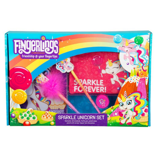 FINGERLINGS SPARKLE UNICORN SET