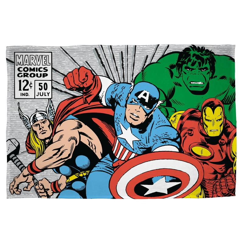 MARVEL COMICS RETRO 100 X 150 CM FLEECE BLANKET