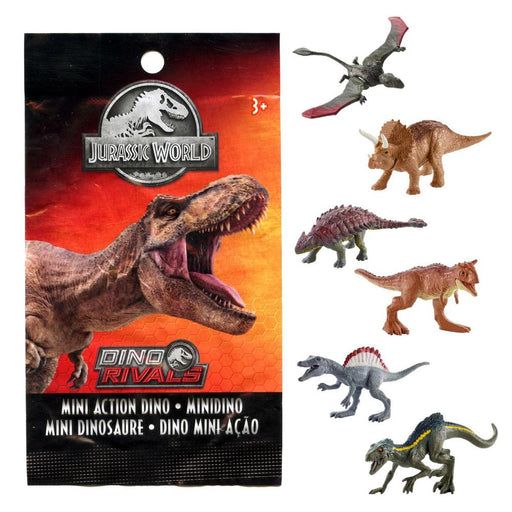 JURASSIC WORLD DINO RIVALS MINI ACTION FIGURE BLIND BAG