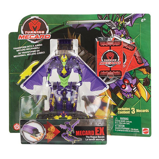 TURNING MECARD MECANIMAL EX TRANSFORMING ACTION FIGURE