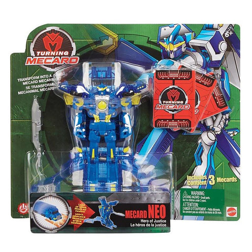 TURNING MECARD MECANIMAL NEO TRANSFORMING ACTION FIGURE