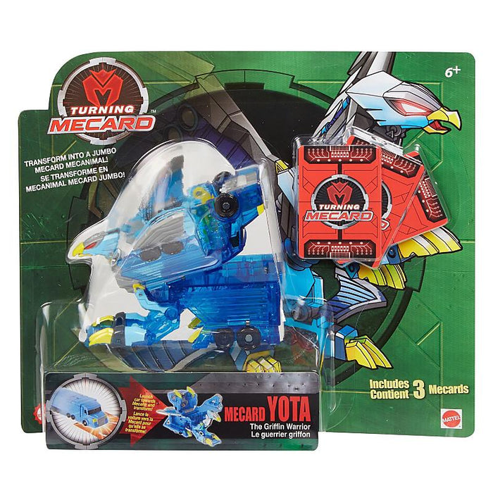 Turning Mecard Mecanimal Yota Transforming Action Figure
