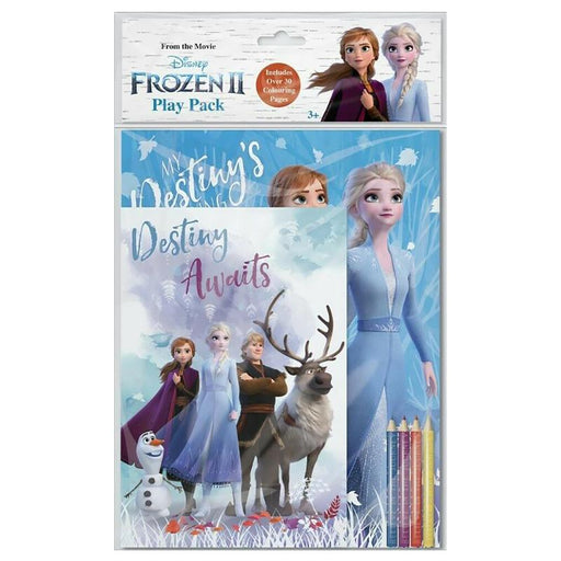 DISNEY FROZEN 2 COLOURING PLAY PACK