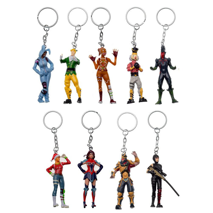 Fortnite Figure Collectible Character Keychain