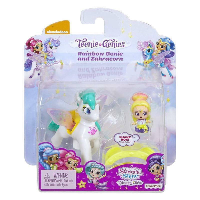 SHIMMER & SHINE TEENIE GENIES RAINBOW & ZAHRACORN PLAY SET