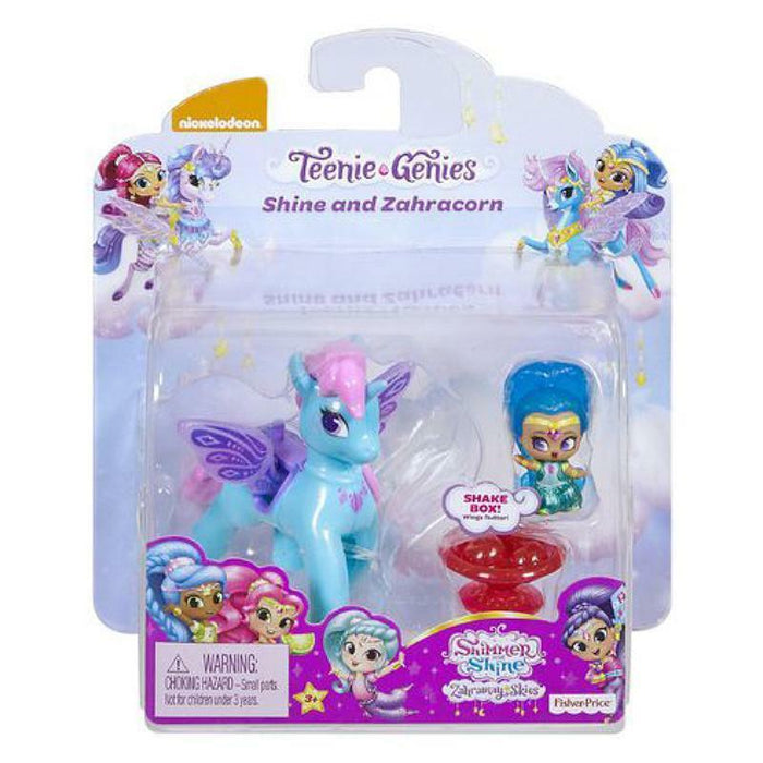 SHIMMER & SHINE TEENIE GENIES SHINE & ZAHRACORN PLAY SET