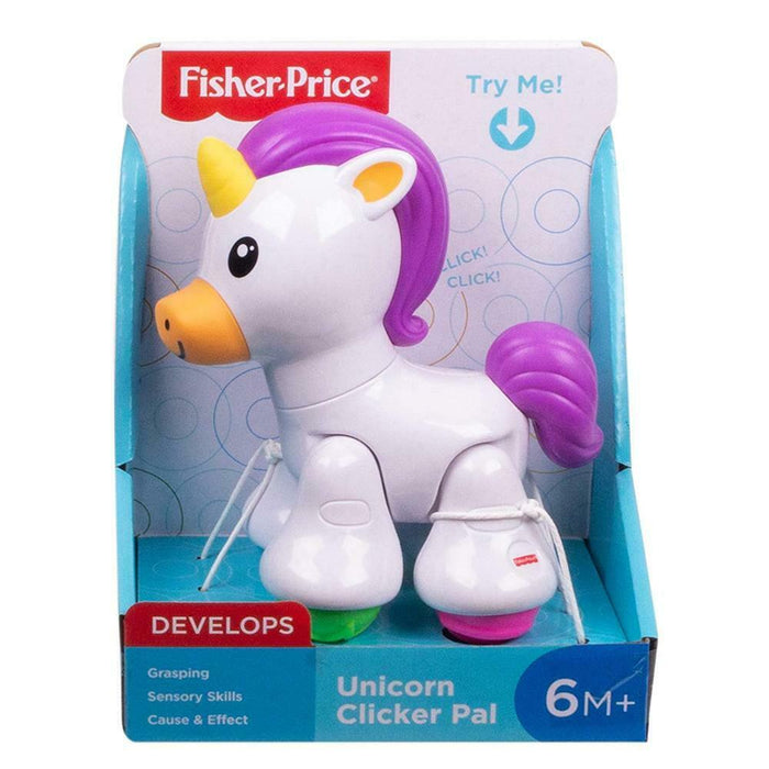 Fisher Price Unicorn Clicker Pal Baby Toddler Toy