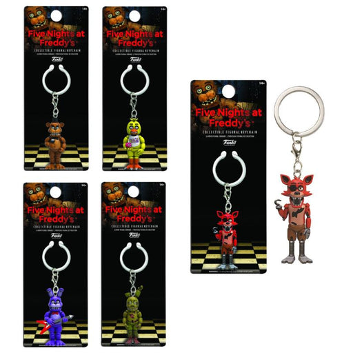 FIVE NIGHTS AT FREDDY'S FUNKO COLLECTIBLE FIGURE KEYCHAIN