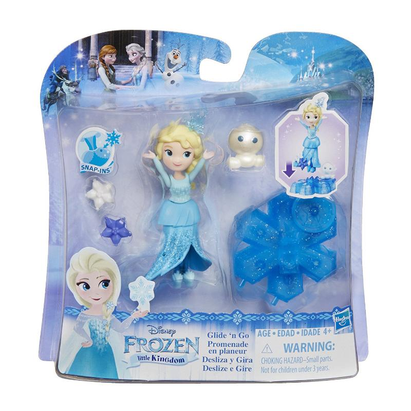 DISNEY FROZEN LITTLE KINGDOM ELSA GLIDE N GO PLAY SET