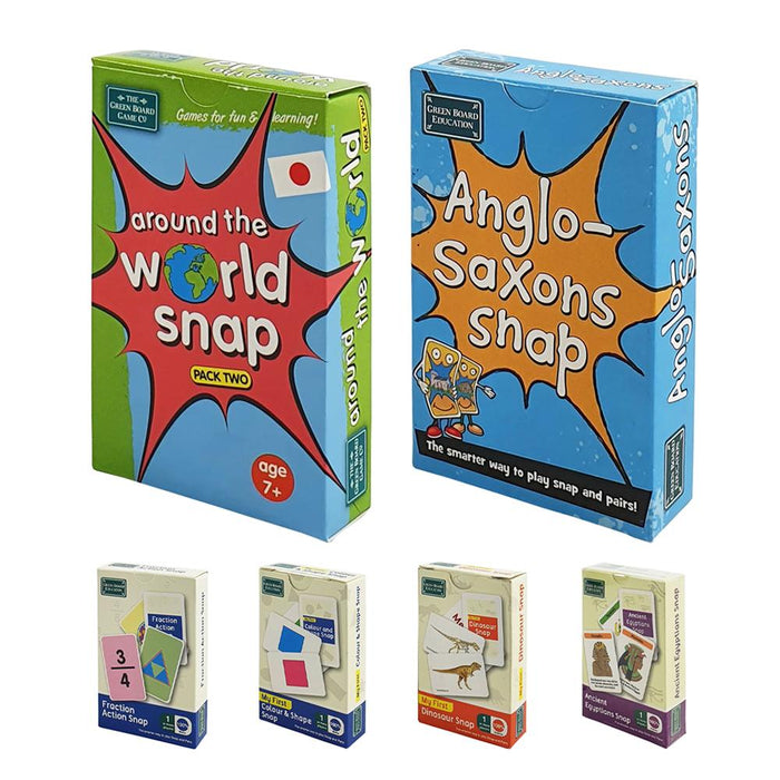 Educational Snap Card Games