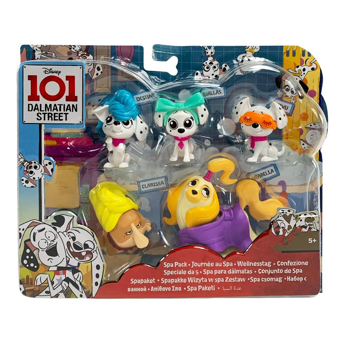 Disney 101 Dalmatian Street Spa Figure Play Set