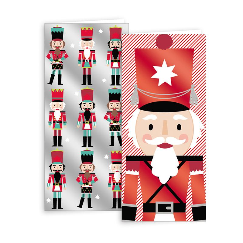 Portrait Nutcracker Cards 10pk