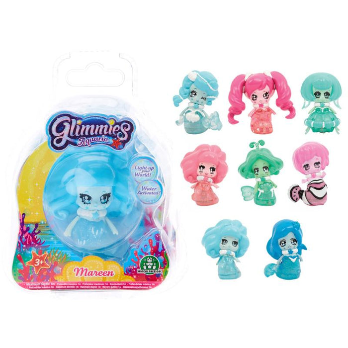GLIMMIES AQUARIA WATER ACTIVATED MINI FIGURE