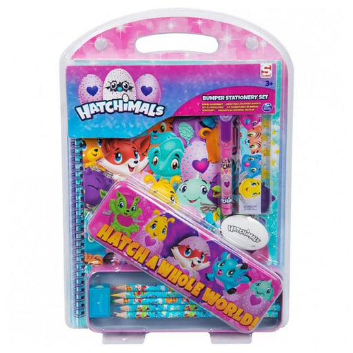 HATCHIMALS BUMPER STATIONERY SET