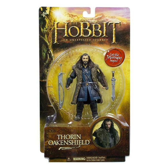 THE HOBBIT THORIN OAKENSHIELD ACTION FIGURE