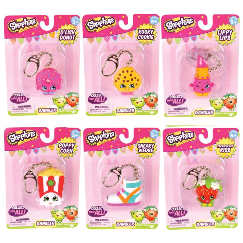 SHOPKINS DANGLER KEYRING