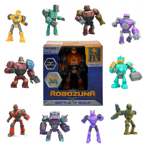 ROBOZUNA BATTLE N BUILD SERIES 1 MINI FIGURE