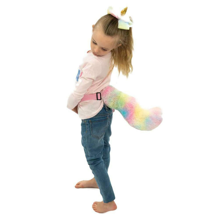 Happy Waggerz Unicorn Electronic Moving Tail Dress Up Toy