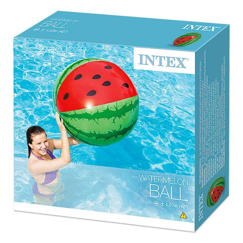 "INTEX WATERMELON GIANT 42"" BEACH BALL"