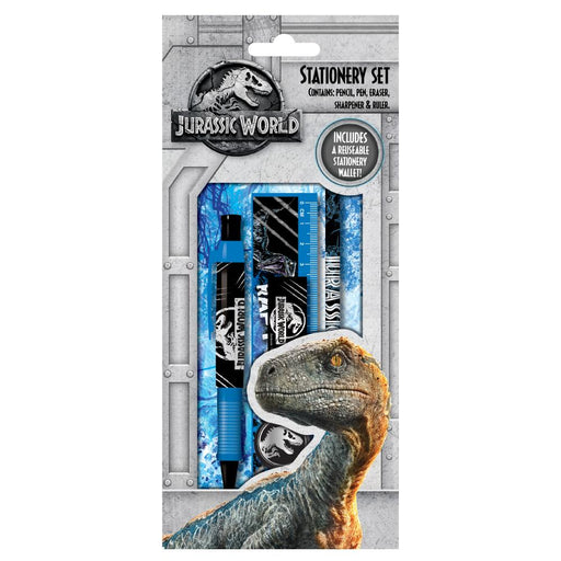 JURASSIC WORLD STATIONERY SET