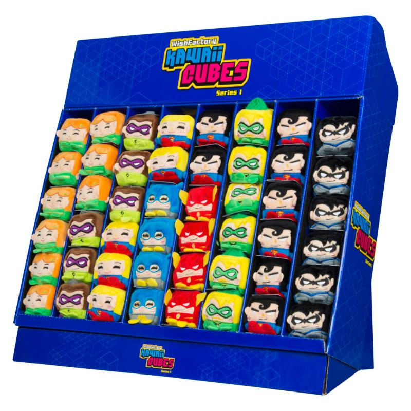 "DC COMICS KAWAII CUBES 2"" SOFT PLUSH TOY"