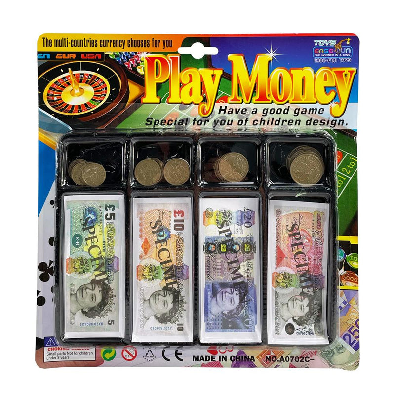 PLAY MONEY TRAY