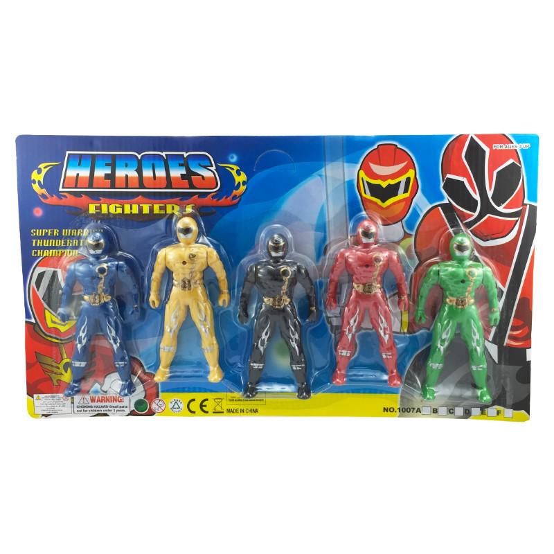 HERO FIGHTER ACTION FIGURE SET by Toys for a Pound