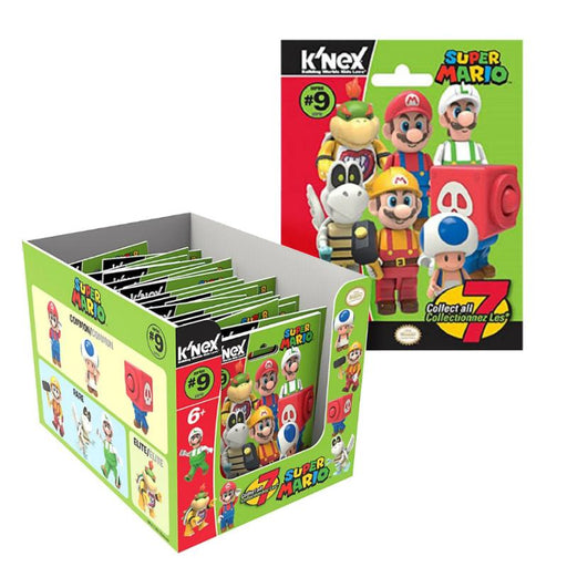 K'NEX SUPER MARIO MINI FIGURE BLIND BAG