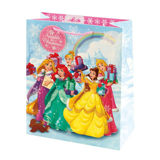 DISNEY PRINCESS LARGE XMAS GIFT BAG