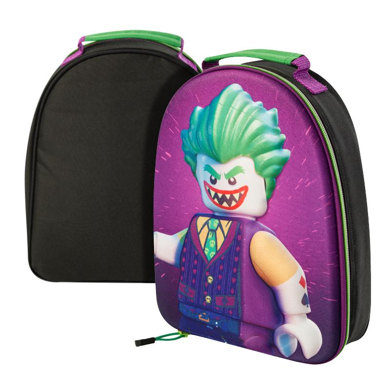 LEGO BATMAN MOVIE THE JOKER 3D INSULATED LUNCH BAG