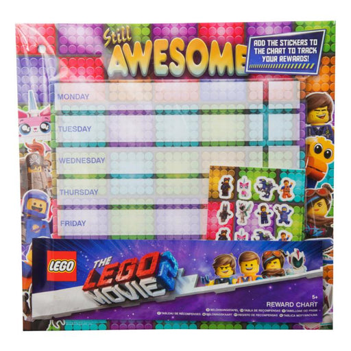 LEGO MOVIE STICKER REWARDS CHART