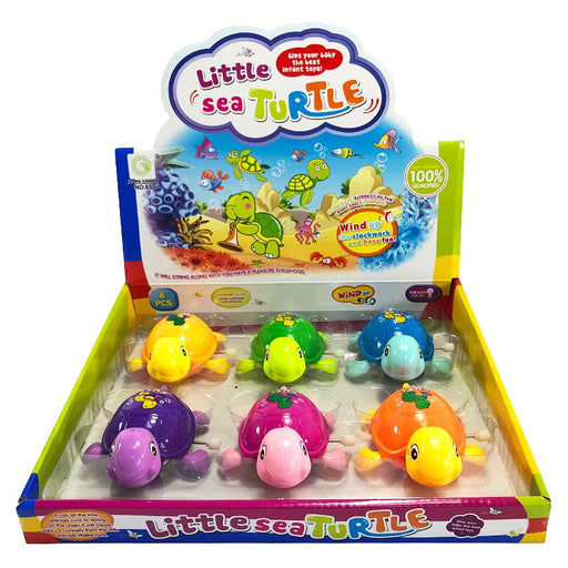 LITTLE SEA TURTLE WIND UP TOY