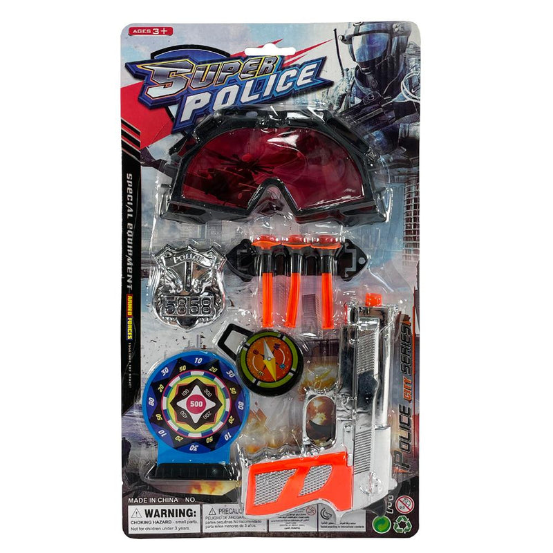 SUPER POLICE ACTION ROLE PLAY SET