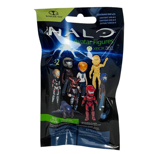 Halo Avatar Figure McFarlane Toys Blind Bag